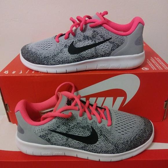buy popular e4784 5b083 Kids Size 5.5Y Nike Free Run NWT